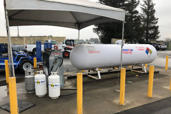 All Star Rents In Davis Offers Barbeque Tank Refills For Backyard Grilling  As Well As Forklift Propane Tank Refills For Industrial Customers.